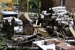 noch mehr Holz
